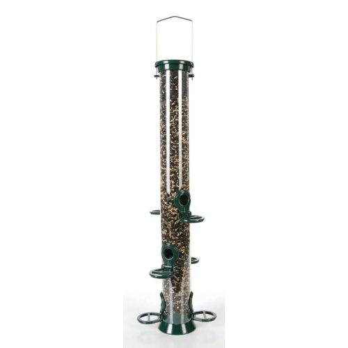 Cj Defender Metal Seed Feeder Green 6 Port Large 52.5cm