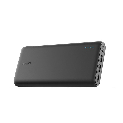 Anker PowerCore 26800 Portable Charger, 26800mAh External Battery with Dual Input Port and Double-Speed Recharging, 3 USB Ports for iPhone, iPad,...
