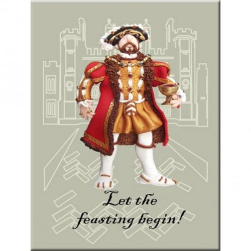Fun historical character fridge magnet
