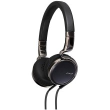 JVC HA-75S ensy On-Ear Headphones for with Mic and Remote - Black