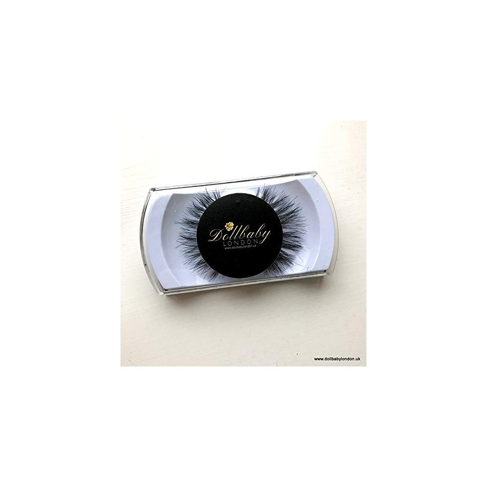 f68f80fc8d3 ... Dollbaby London 'Santorini' Faux Mink Extra Wispy Multi Layered Criss  Cross Lashes Fluffy Reusable. >