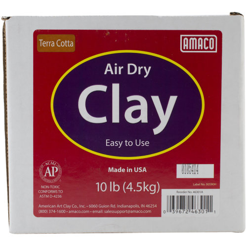 Air-Dry Modeling Clay 10lb-Terra Cotta