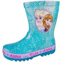 Disney Frozen Glitter Wellies with Flashing Lights