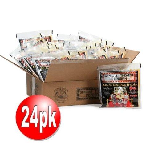 Superior Popcorn 82-P006 4 oz Portion Packs - Pack of 24