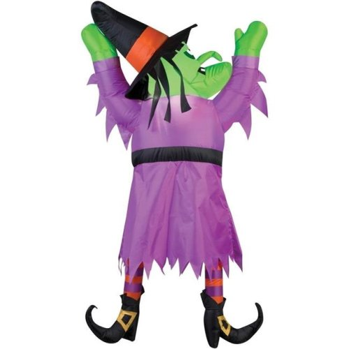 Morris SS70772G Airblown Witch Hanging Halloween Inflatables