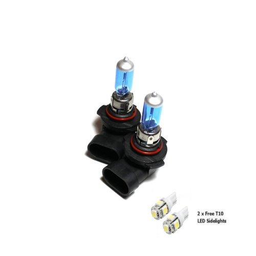 2x H12 712 55w Super White Xenon Headlight Bulbs 12v