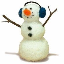 D72-73805 - Dimensions Needle Felt Kit - Snowman