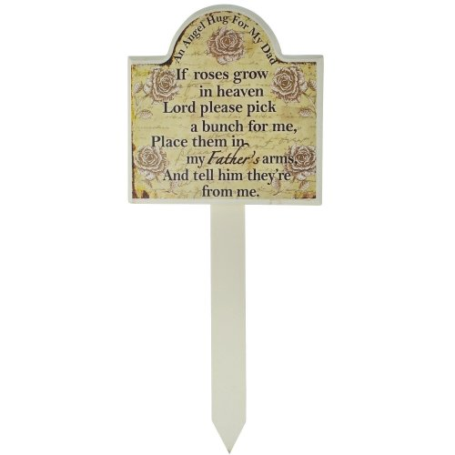 Son Grave Memorial Stick Stake Marker If Roses Grow In Heaven