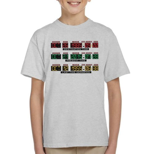 Back To The Future Delorean Time Machine Kid's T-Shirt