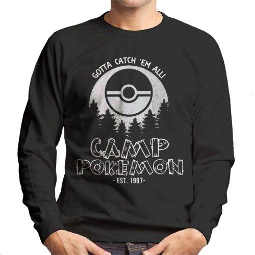 Catch Em All Camp Pokemon Men's Sweatshirt