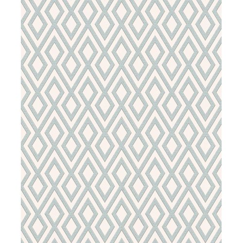 Erismann Fascination Geometric Stripe Pattern Wallpaper Triangle Embossed Glitter Vinyl 4629-08