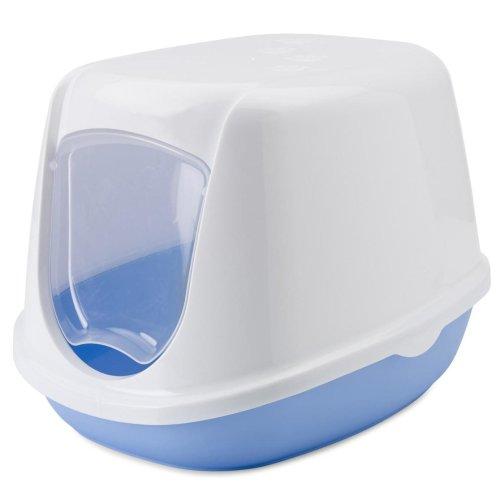Duchesse Kitten Toilet Home White/sweet Blue 44.5x35.5x32cm (Pack of 4)