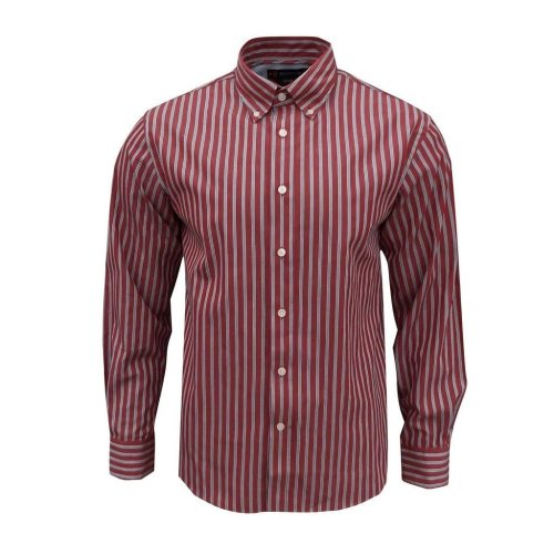 Rockport Men's Frost Striped Long Sleeve Shirt