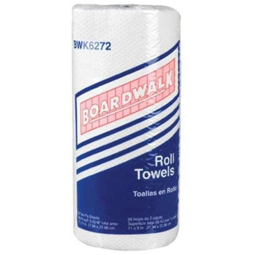 Boardwalk 088-6272 2Ply 85 Sheet Kitchen Roll Towel
