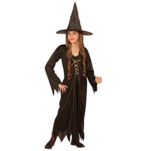 Widmann 00436 children's Costume Witch Costume Dress With Hat ...