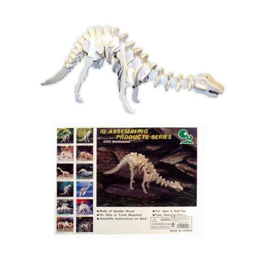 Wooden Dinosaur Skeleton Assembly Kit