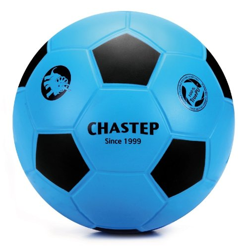 Chastep 8Inch20cm Training PU Foam Soccer Ball for Kids Children (No Air Bladder) Toy Football Indoors and Outdoors(BL)