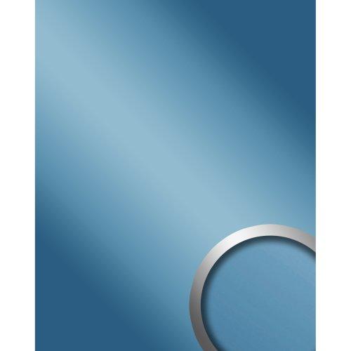 WallFace 10210 DECO ICEBLUE Wall panel self-adhesive Mirror glossy blue 2.6 sqm