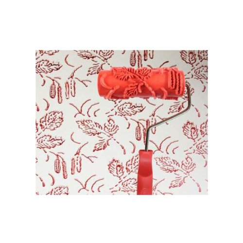 Classical Embossed Paint Roller Wall Painting Runner Wall DIY Tool, Pattern 09