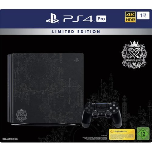 PlayStation 4 Pro 1TB Console Kingdom Hearts III Limited Edition