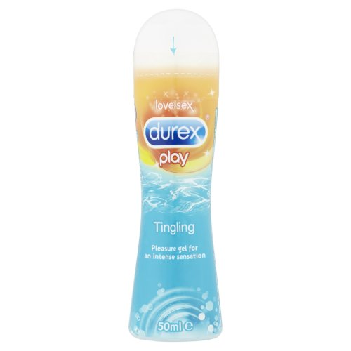 Durex Play Tingle Lube 50ml Bot, Tingling Lubricant Gel