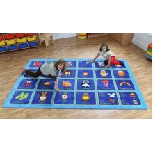 Childrens German Alphabet Carpet (MAT094)