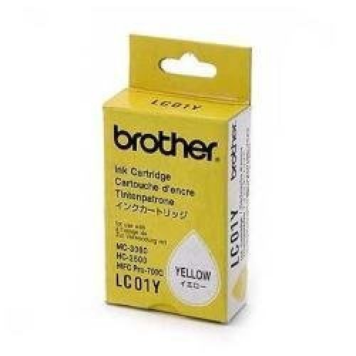 Brother LC01Y Yellow Ink Cartridge 300 Pages BRTLC01Y Category Inkjet  Printer Cartridges