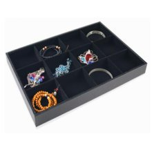 12 Grid Necklaces Display Stand Jewelry Tray Earring Bracelet Display Boards