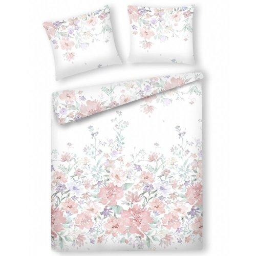 Cotton Duvet Cover Set 160 x 200 cm Multicolour MARSIA