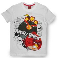 Angry Birds T Shirt - White