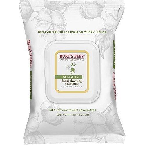 Burts Towelettes Facial S Size 30ct Burts Towelettes Facial Cleansing Sensitive 30ct