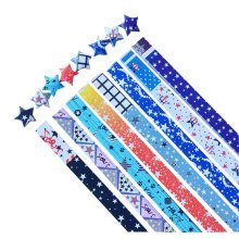 370 Sheets Lucky Stars DIY Paper Folding Paper Origami