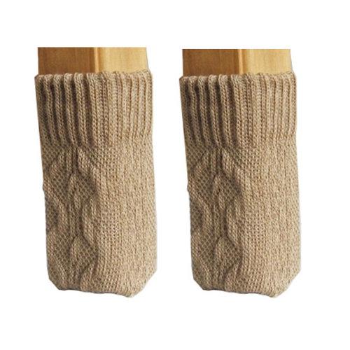32 PCS Chair/Table Leg Pad Furniture Knit Socks Floor Protector,Q