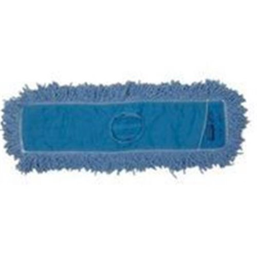 Rubbermaid 4131934 Blend Twisted Loop Dust Mop Head, Polyester, Blue