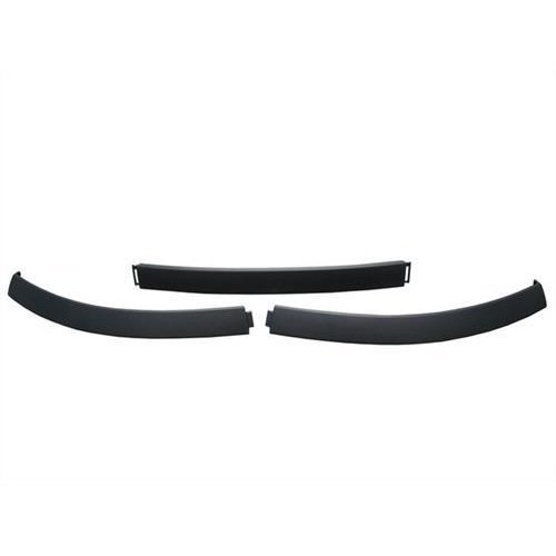 Citroen C3 5 Door Hatchback 2002-2005 Front Bumper Spoiler Black