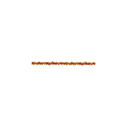 """Welcome Fall Thanksgiving Party Crinkle Foil Tinsel Garland Decoration, Foil, 15"""""""