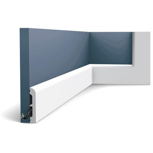 Orac Decor SX183 AXXENT CASCADE Skirting baseboard moulding panel moulding 2 m