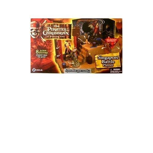 Pirates of the Caribbean 3: Singapore Playset