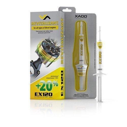 XADO Diesel Engine Oil Additive Restoration Treatment - Save fuel Reduce MOT emissions - EX120