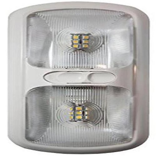 Double LED Euro Light with Optical Lens, Soft White
