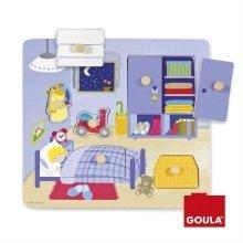 Goula Children's Bedroom Wooden Puzzle (8 Pieces)