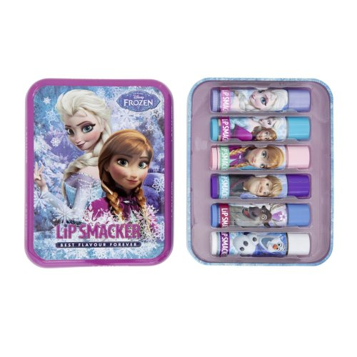 Lip Smacker Disney Frozen SnowFlake Tin -6 Pieces