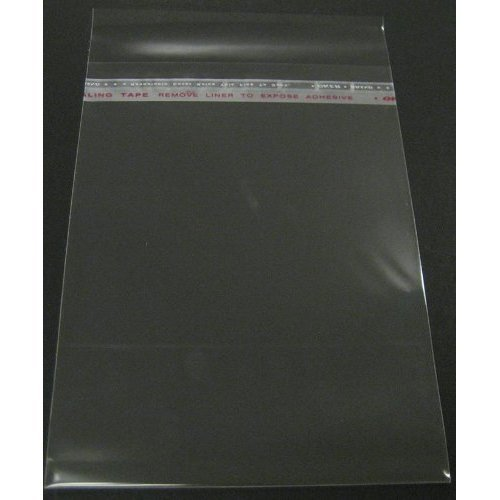 Golden State Art Pack of 100 11 3 8x14 1 8 Crystal Clear Bag for 11x14 mat mattes
