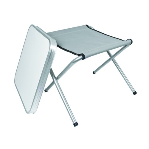 Multi Use 2-In-1 Camping Stool / Table