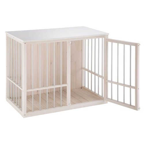 Dog Kennel Indoor Robust Wooden Cage Crate