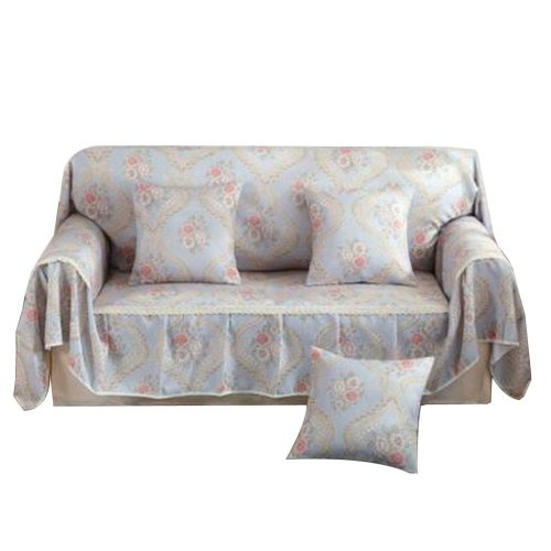 3 Seat Sofa Slipcover Elegant Couch Cover Furniture Protector #35