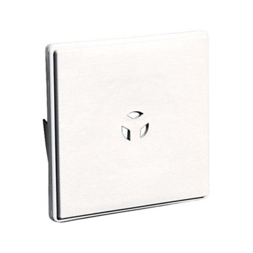 Builders Edge 130010008117 6.6 x 6.6 in. Builders Edge Surface Mount Block  White