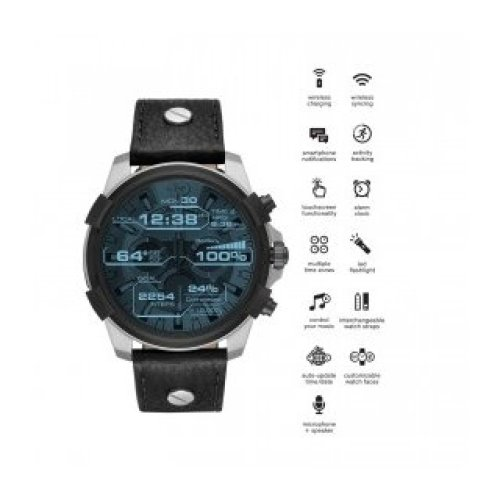 DIESEL SMARTWATCH FULL GUARD STEEL DZT2001