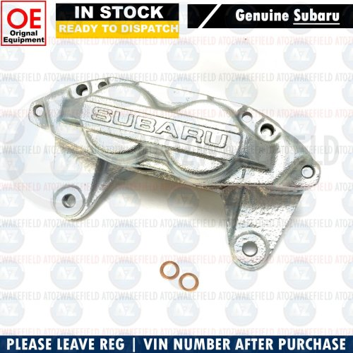For Subaru Impreza 2.0 2.5 Turbo WRX STI front Genuine brake caliper right 4 pot