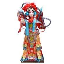 Traditional Chinese Doll Peking Opera Performer - Mu Gui Ying 03